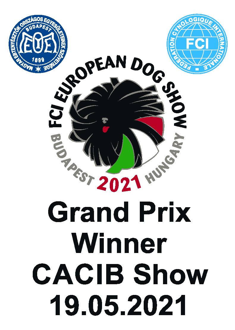 Grand Prix Winner CACIB Show - Wednesday, 19 May, 2021